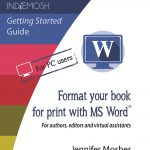 Format for your book for print with MS Word