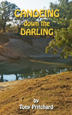 Canoeing down the Darling