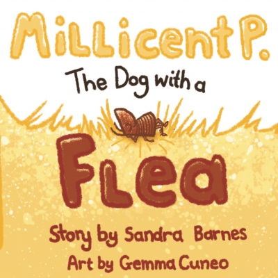 Millicent P. the Dog with a Flea